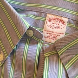 Brooks Brothers button down shirt 16