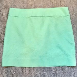 J. Crew Sz 8 Mint Green Skirt EUC