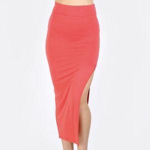 Dresses & Skirts - Side Slit Pencil Skirt