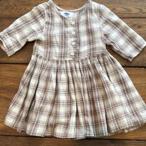 Old Navy plaid dress