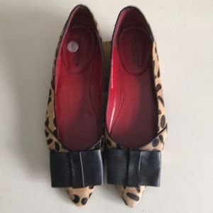Town Shoes Calf Hair Flats