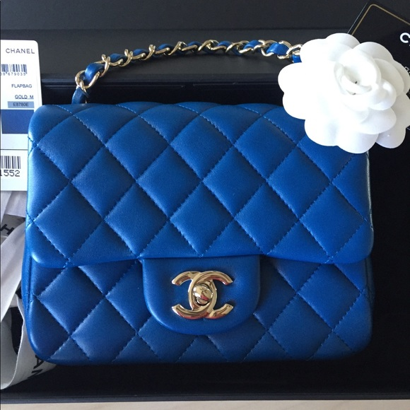 9985a9115abe75 CHANEL Handbags - CHANEL 2017 square mini handbag