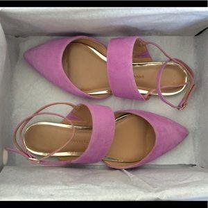Lilac Closed Toe Sandal