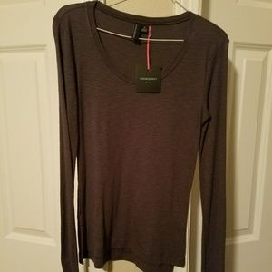 Gray long sleeve shirt, Size S