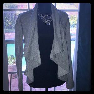 ❤️Grey Merona XS draped Cardigan ❤️