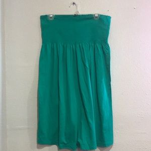 Green tube dress size large