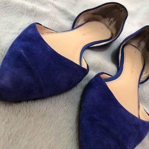 Royal Blue Flats