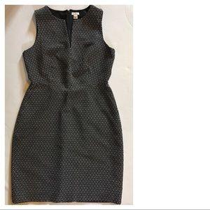 J. Crew Black & White Suited Dress