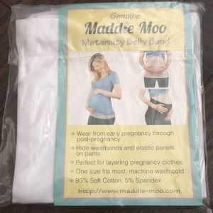 Maddie Moo maternity belly band