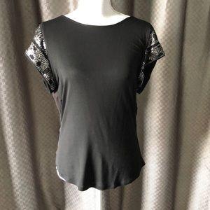 Women's XS black Bebe dress shirt