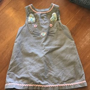 Baby Boden Corduroy Dress