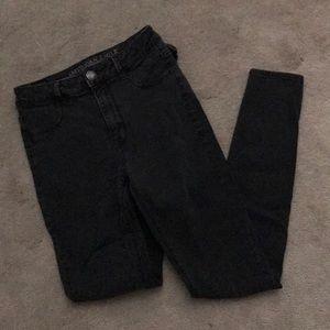 American Eagle High Rise Skinny Jeans