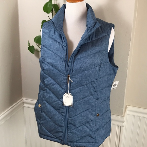ac3a59ebb03 Charter Club Plus Size Quilted Vest. B017