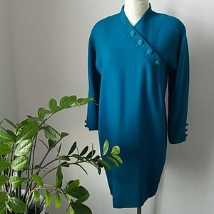 90s Jones New York Wool Dress
