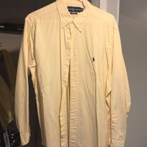Polo button down dress shirt