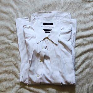 Nordstrom white button down shirt
