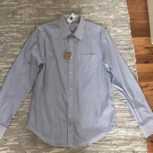New Gap wrinkle resistant long sleeve men's shirt