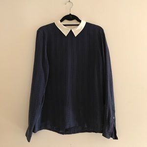 Equipment Perforated Blouse