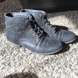 Just Fab black ankle boots