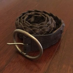 Braided Leather American Eagle Outfitters Belt