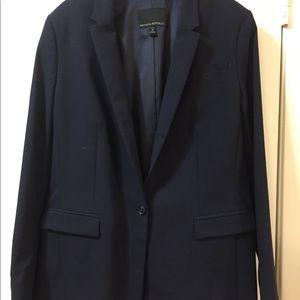 Banana Republic Wool Navy Blazer Suit Jacket