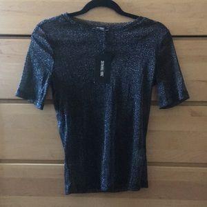Zara brand new mesh see-through tshirt!