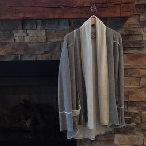 Hard Tail Sweatshirt Cardigan