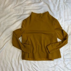 COS mock neck top