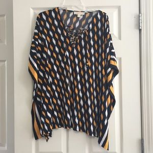 KORS Michael Kors Tops - Michael Kors Graphic Blouse