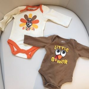 Other - NWOT Thanksgiving Onesies