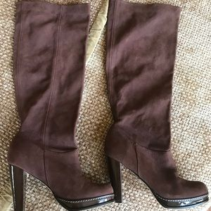 Cole Haan Nike Air Suede Boots