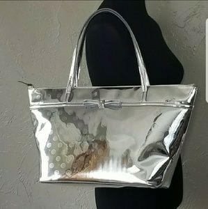 Kate Spade silver Sophie Carmellia Street NWT Bag