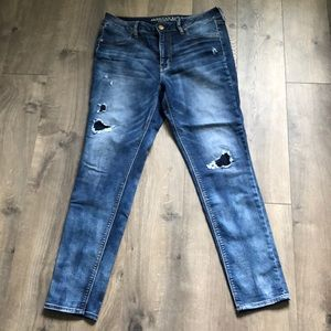 American eagle outfitters hi rise jegging