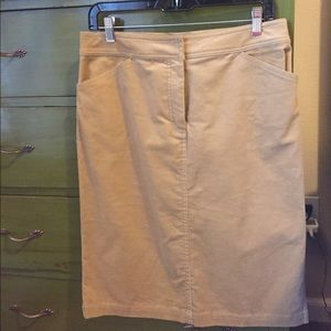 Courderoy skirt J. Crew like new
