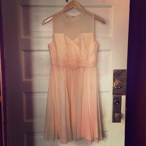 J. Crew size 2 petite blush pink dress