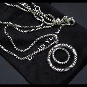 D.Yurman Mobile Small Pave Pendnt Necklace Diamond