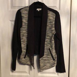 Lou & Grey Sweater Jacket Sz M