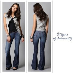 """Citizens of Humanity """"Ingrid"""" #002 Flare Leg Jeans"""