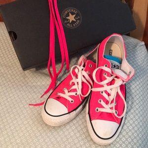 Converse EUC Hot Pink Size 8