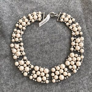 J Crew Pearl Collar Necklace 18""