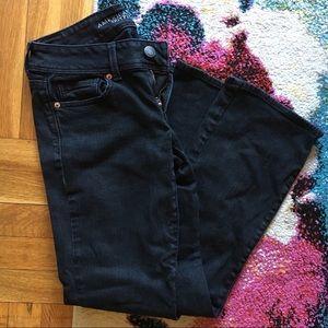 American Eagle 🦅 Kick Boot Stretch Black Jeans
