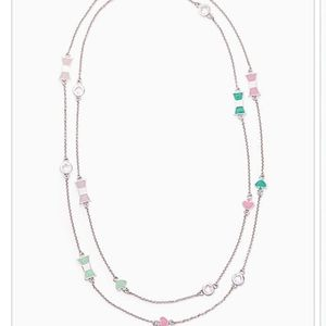 Coming soon! Kate Spade bows and spades necklace