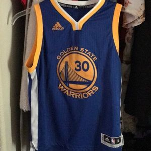 Warriors jersey curry