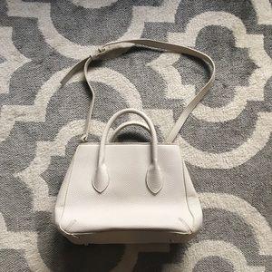 Zara Ivory White Bag