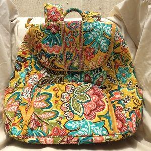 Vera Bradley NWOT Provencal print backpack.