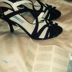 Authenticated Prada high heels