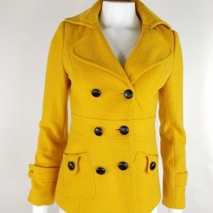 Forever 21 Mustard Yellow Jacket sz S
