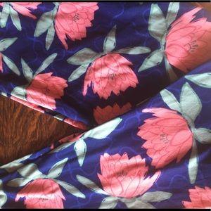 New TC lotus flower leggings from LLR