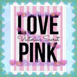 "2 BUNDLE🌸💜 ""Love Pink""Victoria's Secret Art 💜🌸"
