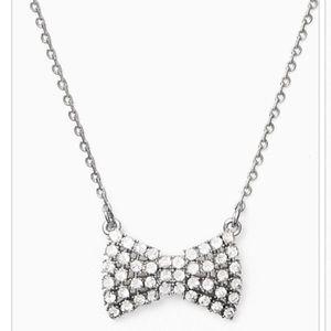 Coming soon! Kate Spade sparkling bow mini pendant